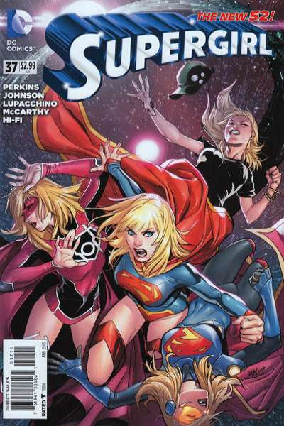 Supergirl #37 comic books for sale