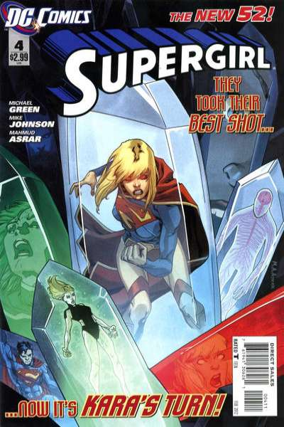 Supergirl #4 Comic Books - Covers, Scans, Photos  in Supergirl Comic Books - Covers, Scans, Gallery