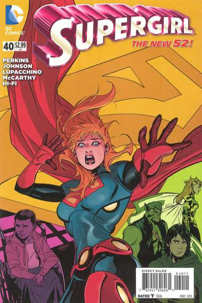 Supergirl #40 comic books for sale
