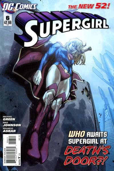 Supergirl #6 Comic Books - Covers, Scans, Photos  in Supergirl Comic Books - Covers, Scans, Gallery