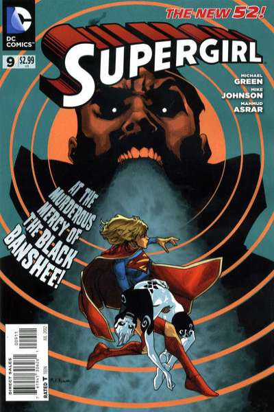 Supergirl #9 Comic Books - Covers, Scans, Photos  in Supergirl Comic Books - Covers, Scans, Gallery