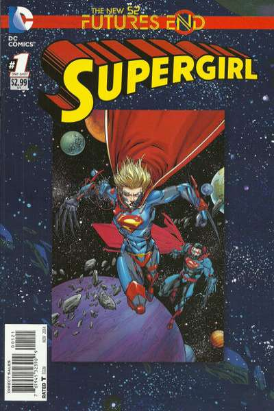 Supergirl: Futures End #1 comic books for sale