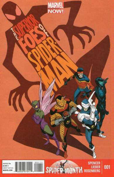 Superior Foes of Spider-Man comic books
