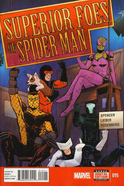 Superior Foes of Spider-Man #15 comic books for sale