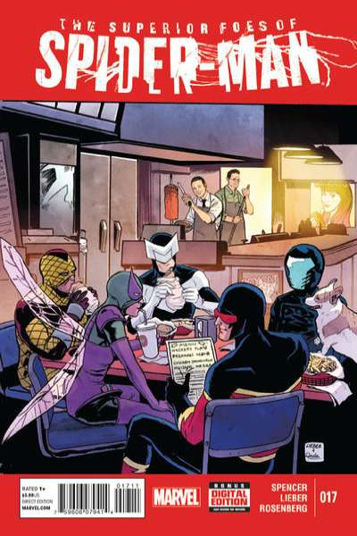 Superior Foes of Spider-Man #17 comic books for sale