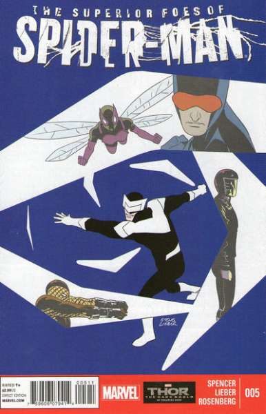 Superior Foes of Spider-Man #5 Comic Books - Covers, Scans, Photos  in Superior Foes of Spider-Man Comic Books - Covers, Scans, Gallery