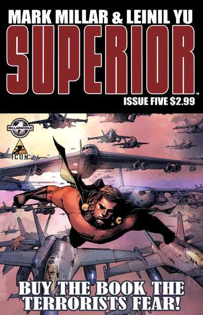 Superior #5 Comic Books - Covers, Scans, Photos  in Superior Comic Books - Covers, Scans, Gallery