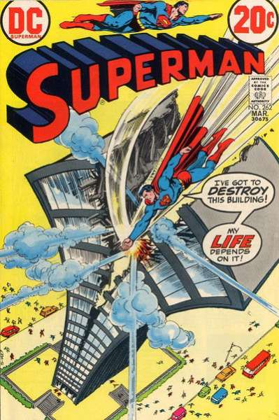 Superman #262 Comic Books - Covers, Scans, Photos  in Superman Comic Books - Covers, Scans, Gallery