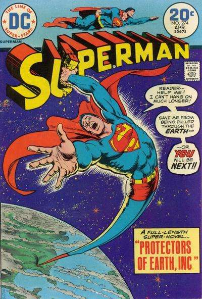 Superman #274 comic books - cover scans photos Superman #274 comic books - covers, picture gallery