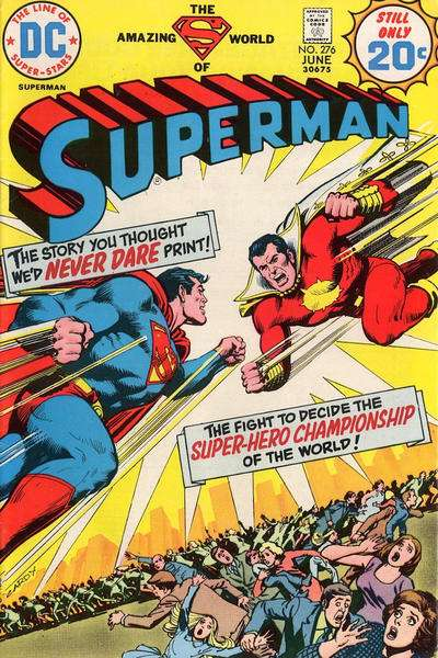 Superman #276 Comic Books - Covers, Scans, Photos  in Superman Comic Books - Covers, Scans, Gallery