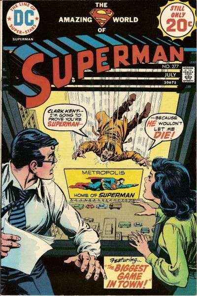 Superman #277 comic books - cover scans photos Superman #277 comic books - covers, picture gallery