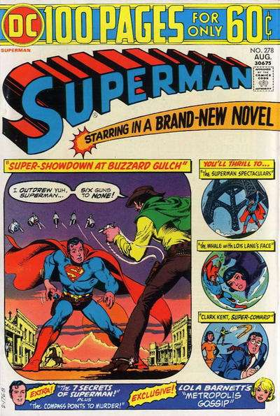 Superman #278 cheap bargain discounted comic books Superman #278 comic books
