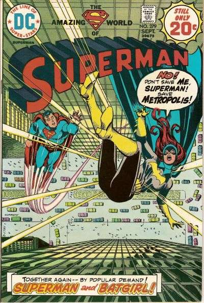 Superman #279 Comic Books - Covers, Scans, Photos  in Superman Comic Books - Covers, Scans, Gallery