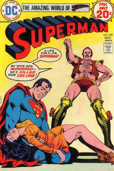 Superman #281 Comic Books - Covers, Scans, Photos  in Superman Comic Books - Covers, Scans, Gallery