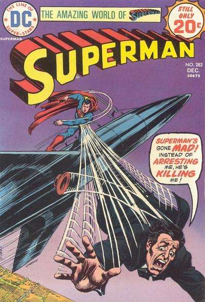 Superman #282 comic books - cover scans photos Superman #282 comic books - covers, picture gallery