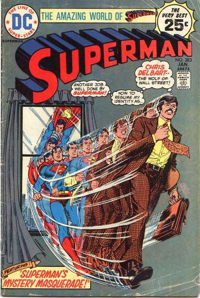 Superman #283 comic books - cover scans photos Superman #283 comic books - covers, picture gallery