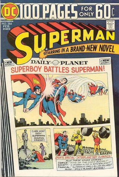 Superman #284 Comic Books - Covers, Scans, Photos  in Superman Comic Books - Covers, Scans, Gallery