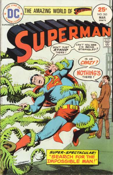 Superman #285 comic books - cover scans photos Superman #285 comic books - covers, picture gallery