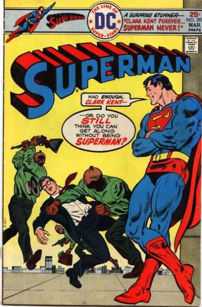 Superman #297 Comic Books - Covers, Scans, Photos  in Superman Comic Books - Covers, Scans, Gallery