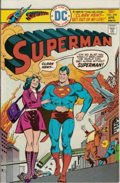 Superman #298 comic books - cover scans photos Superman #298 comic books - covers, picture gallery