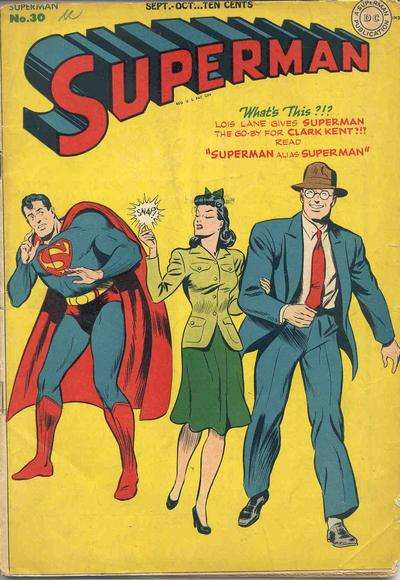 Superman #30 comic books for sale