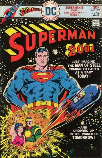 Superman #300 comic books - cover scans photos Superman #300 comic books - covers, picture gallery