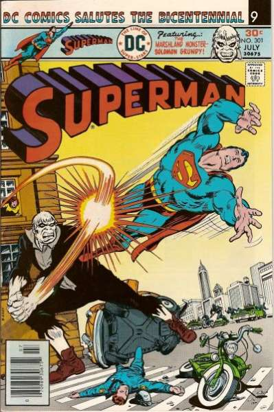 Superman #301 comic books - cover scans photos Superman #301 comic books - covers, picture gallery