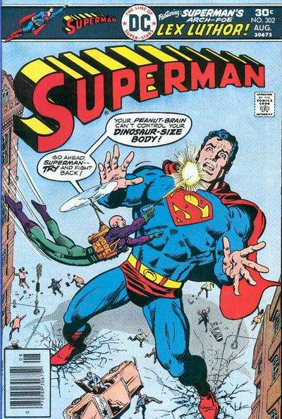 Superman #302 Comic Books - Covers, Scans, Photos  in Superman Comic Books - Covers, Scans, Gallery