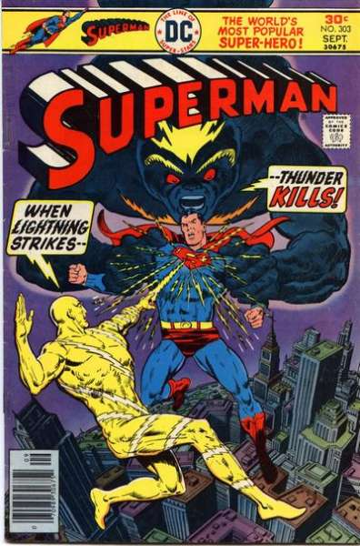 Superman #303 Comic Books - Covers, Scans, Photos  in Superman Comic Books - Covers, Scans, Gallery