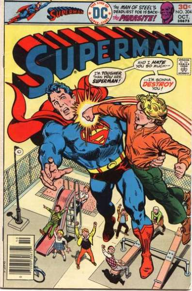 Superman #304 Comic Books - Covers, Scans, Photos  in Superman Comic Books - Covers, Scans, Gallery