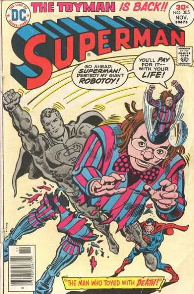 Superman #305 Comic Books - Covers, Scans, Photos  in Superman Comic Books - Covers, Scans, Gallery