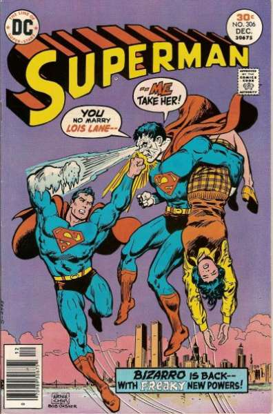 Superman #306 comic books - cover scans photos Superman #306 comic books - covers, picture gallery