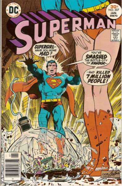 Superman #307 Comic Books - Covers, Scans, Photos  in Superman Comic Books - Covers, Scans, Gallery