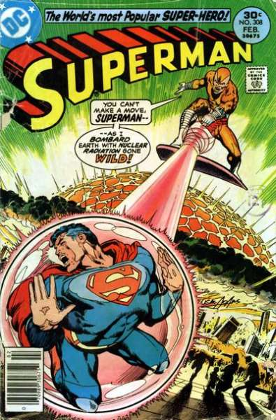 Superman #308 comic books - cover scans photos Superman #308 comic books - covers, picture gallery