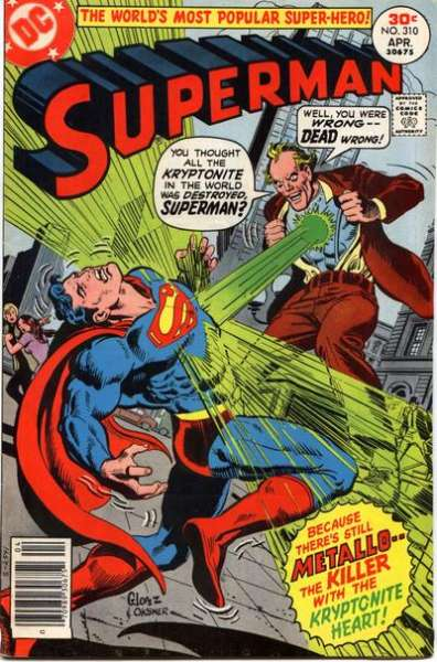 Superman #310 comic books - cover scans photos Superman #310 comic books - covers, picture gallery