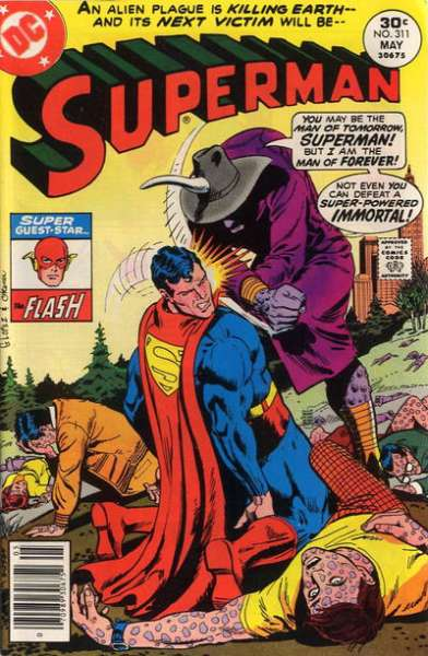 Superman #311 comic books - cover scans photos Superman #311 comic books - covers, picture gallery