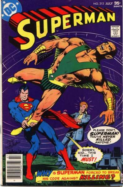 Superman #313 Comic Books - Covers, Scans, Photos  in Superman Comic Books - Covers, Scans, Gallery