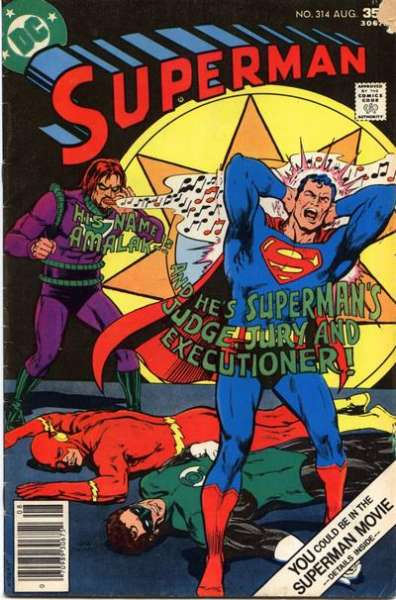 Superman #314 comic books - cover scans photos Superman #314 comic books - covers, picture gallery