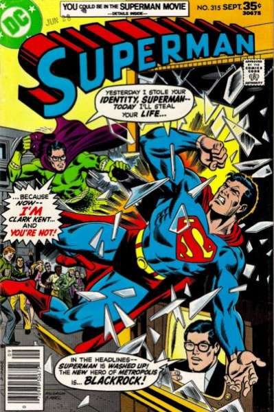 Superman #315 Comic Books - Covers, Scans, Photos  in Superman Comic Books - Covers, Scans, Gallery