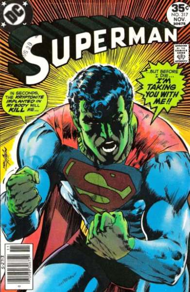 Superman #317 comic books - cover scans photos Superman #317 comic books - covers, picture gallery