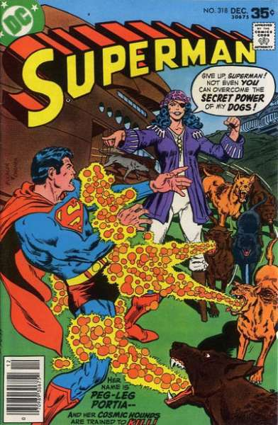 Superman #318 comic books - cover scans photos Superman #318 comic books - covers, picture gallery
