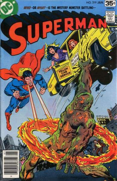 Superman #319 cheap bargain discounted comic books Superman #319 comic books