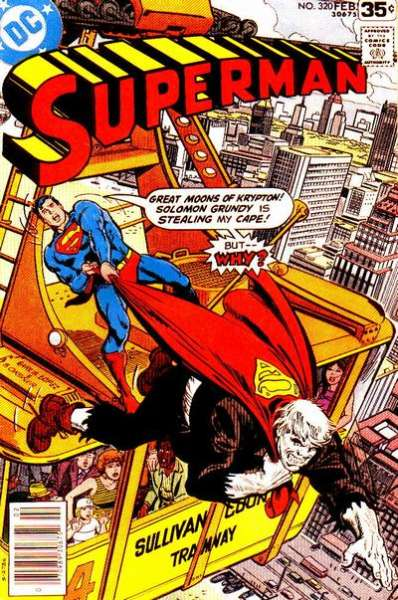 Superman #320 Comic Books - Covers, Scans, Photos  in Superman Comic Books - Covers, Scans, Gallery