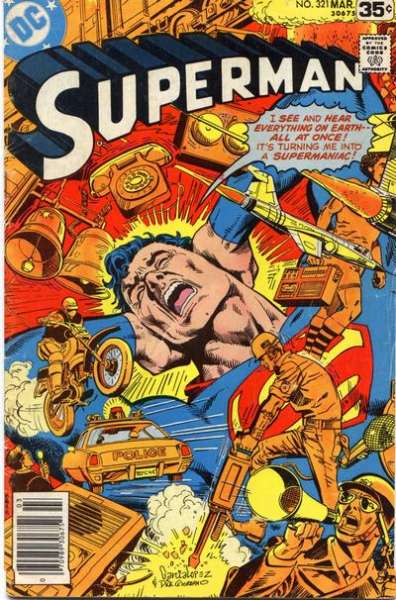 Superman #321 comic books for sale