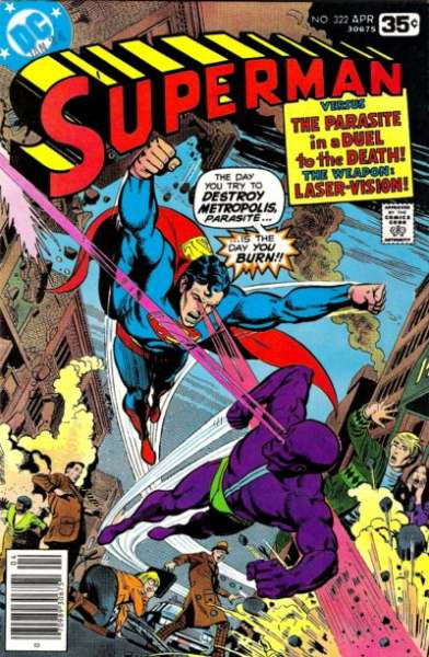 Superman #322 Comic Books - Covers, Scans, Photos  in Superman Comic Books - Covers, Scans, Gallery