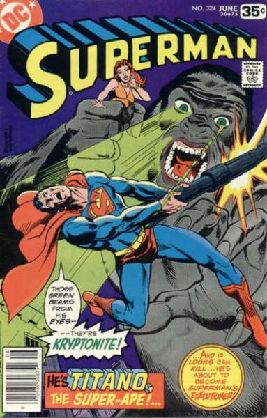 Superman #324 Comic Books - Covers, Scans, Photos  in Superman Comic Books - Covers, Scans, Gallery