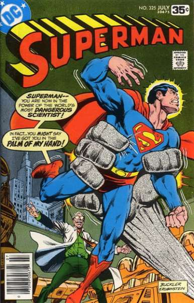 Superman #325 comic books - cover scans photos Superman #325 comic books - covers, picture gallery