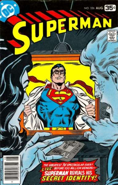 Superman #326 comic books - cover scans photos Superman #326 comic books - covers, picture gallery