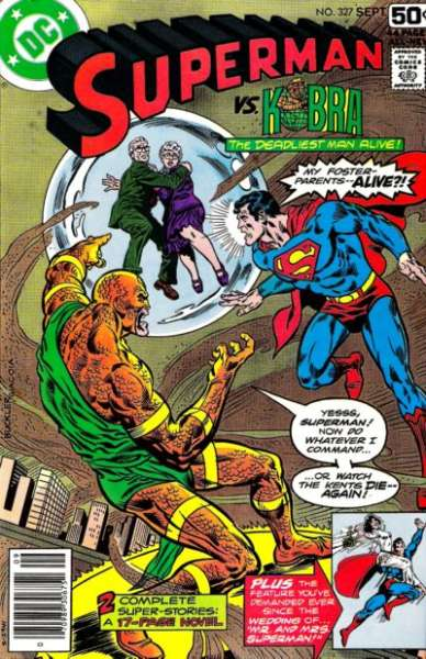 Superman #327 comic books - cover scans photos Superman #327 comic books - covers, picture gallery