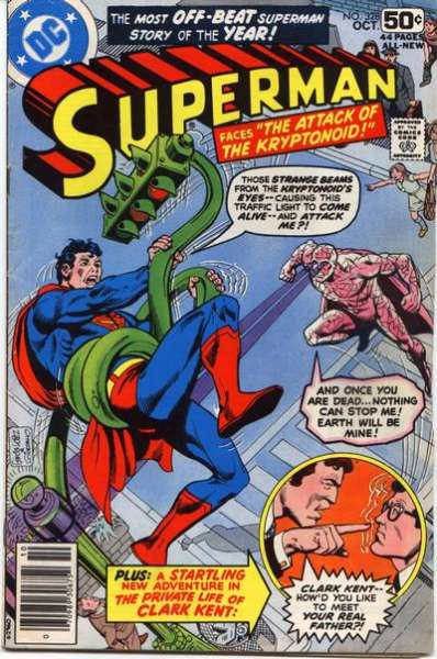 Superman #328 comic books - cover scans photos Superman #328 comic books - covers, picture gallery
